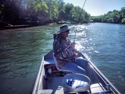 Greg Seaton Fly Fishing Litte Red River Heber Springs Trout