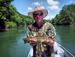 Greg Seaton Guide Trips Fly Fishing Litte Red River Heber Springs Trout
