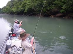 Greg Seaton Guided Fly Fishing Trips Litte Red River Heber Springs Trout Arkansas
