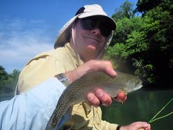 Greg Seaton Fly Fishing Litte Red River Trout Guide Heber Springs Arkansas
