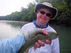 Greg Seaton Fly Fishing Litte Red River Trout GuideHeber Springs Arkansas Trout