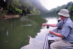 Greg Seaton Fly Fishing Trout Guide Little Red River Heber Springs Arkansas
