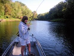 Little Red River Trout Guide Greg Seaton Heber Springs Arkansas