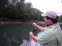Greg Seaton Fly Fishing Little Red RiverTrout Guide Heber Springs Arkansas