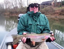 Greg Seaton Fly Fishing Litt.e Red River Heber Springs Trout Guide Arkansas